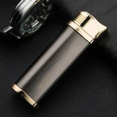 2017 New authentic high end metal gas lighters Exquisite gift lighters fire starter  windproof jobon lighter smoking pipe #Affiliate