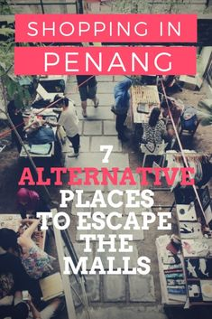 Besides a few obvious boutiques and shops, the following 7 suggestions will show you where to go spending a few great days of alternative shopping in Penang. The best thing is, you will never have to entering any mall… #shopping #penang #georgetown #malaysia #southeastasia #alternative
