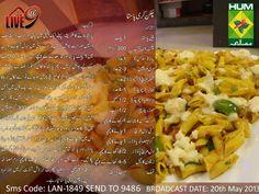 Chicken Curry Pasta Recipe in Urdu