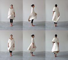 Möbius Dress: diseños funcionales