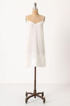 I wear chemises as dresses too often.
