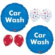 Car Wash balloons Car Wash Advertising Balloons by PartySurprise