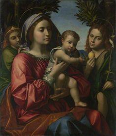 The Athenaeum - The Virgin and Child, Saint John the Baptist and an Angel (Paolo Morando - )