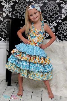 CKC Primrose's Girls Boutique Princess Dress PDF Pattern