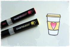 Tónovací fixy Chameleon a Nemravka razítka Lipstick, Beauty, Lipsticks, Beauty Illustration