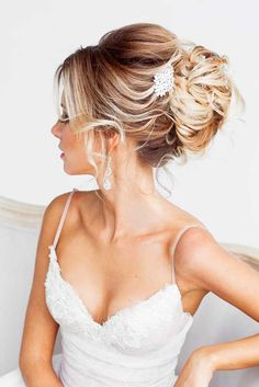 18 Timeless Bridal Hairstyles ❤ See more: http://www.weddingforward.com/timeless-bridal-hairstyles/ #weddings #hairstyles