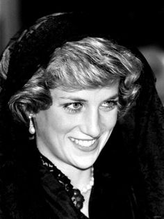 April 29, 1985: Princess Diana at the Vatican in Rome for a private meeting with Pope John Paul II.