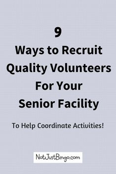 Discover Easy Ways to Recruit Quality Volunteers for Your Nursing Home or Assisted Living Facility. Senior Citizen Activities, Elderly Activities, Dementia Activities, Enrichment Activities, Art Therapy Activities, Physical Activities, Craft Activities, Physical Education, Spring Activities