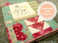 'Quilting Journals- To Do or Not To Do, That is the Question...!' (via patchworkposse.com)