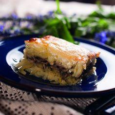 Vegan Menu, Vegan Recipes, Hungarian Recipes, Hungarian Food, Spanakopita, Lasagna, Ethnic Recipes, Foods, Food Food