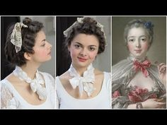 Get the look of 18th century beauty Madame de Pompadour. Find out how she did her hair & makeup and how to recreate the style!