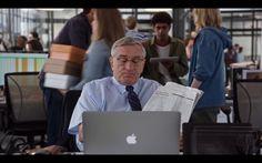 Apple MacBook Pro – The Intern (2015) Movie Scene