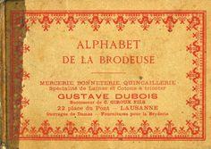 Also some figures and borders.  Gallery.ru / Фото #1 - Alphabet de la brodeuse - logopedd