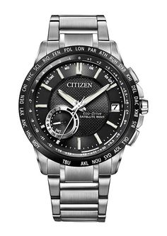 Citizen Eco-Drive Satellite Wave World-Time GPS - I'm not usually a fan of Citizen watches but would make an exception for this piece =]