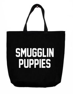 Smugglin Puppies Tote Bag | NYLON SHOP
