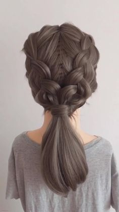 Dear girls,if you make a decision in favor of cool braids hairstyles for medium hair. So this site is for you, here you can get 5 cool braids hairstyles for medium hair. Snap here now. hair 5 Cool Braids Hairstyles For Medium Hair hairstyles for thin hair Cute Hairstyles For Medium Hair, Cool Braid Hairstyles, Creative Hairstyles, Daily Hairstyles, Popular Hairstyles, School Hairstyles, Hairstyles Videos, Anime Hairstyles, Stylish Hairstyles