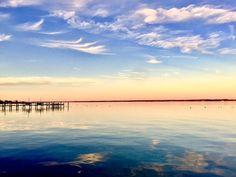 Sunset in Cambridge Maryland by KennedyPhotographyCo on Etsy
