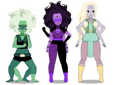 Fusions! :EXPORTS: by queen-kaitlyn on DeviantArt