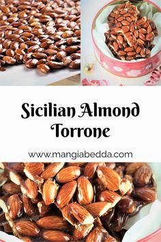 The perfect edible 2-ingredient gift! #almondtorrone #almondbrittle