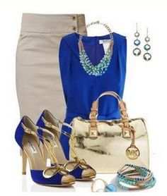 BLUE OUTFITS