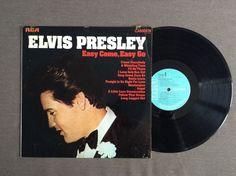Easy Come, Easy Go by Elvis Presley, 1975, LP
