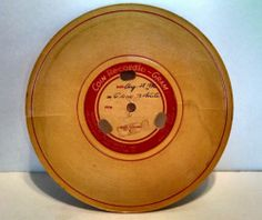 Wilcox Gay Recordio Disc 1956 Vintage Voices from The Past Found Sounds Spooky   eBay