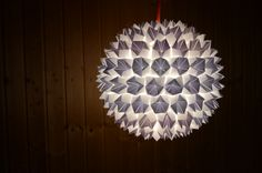 Origami lamp – fortune tellers