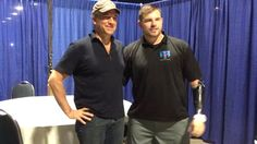 Mike Rowe, 'Dirty Jobs' host, inspired after meeting amputee vet - wow !  amazing !