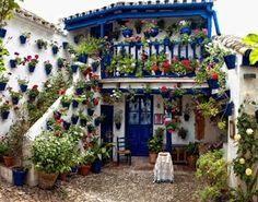 An Andalusia balcony at home