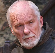 """Barristan Selmy (Ian McElhinney) """"Ser Barristan is the original silver fox, and the original warrior of Westeros. He knows how to work a sword, and he wears a mean suit of armor. What a gentleman."""""""