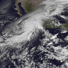 Recursos interactivos para el estudio del huracán Patricia