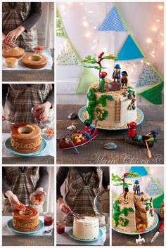 """Gâteau pinata """"île au trésor"""" Beautiful Cakes, Gingerbread, Lily, Healthy, Birthday, Desserts, Food, Kids Pirate Parties, Pirate Party"""