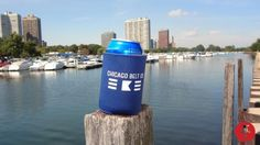 Official Chicago Belt Co. Koozie.  - $5.00 - Powered by Pin2Sell