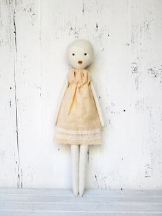Rag doll handmade retro one of a kind/ Claire by lespetitesmainsS