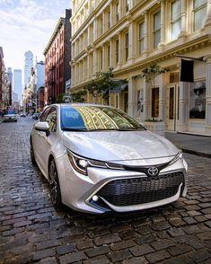 Hatchback has street smart Toyota Usa, Toyota Cars, Toyota Celica, Toyota Corolla Hatchback, Leather Car Seat Covers, Smart Car, City Car, Street Smart, Trd
