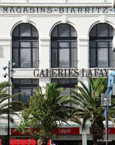 Biarritz, South of France - Galeries Lafayette Biarritz, Paris Love, Basque Country, South Of France, Best Memories, French Connection, Dream Vacations, Cousins, Old Houses