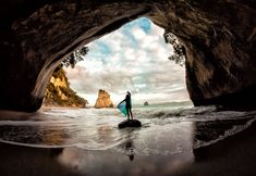 Summer is coming! Bring on the beaches. This was shot in Cathedral Cove. I'm excited at the prospect of returning there with better equipment and a host of new ideas...