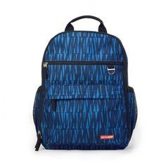 BOLSA MATERNIDADE (DIAPER BAG) DUO SIGNATURE - BACKPACK - BLUE GRAFFITI - SKIP HOP