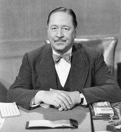 Robert Benchley – resident of the Garden of Allah Hotel