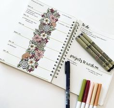 """386 Likes, 26 Comments - Jennifer (@journalrella) on Instagram: """"For this week's spread I wanted to try a new layout. In the weeks prior, I've had daily to-do lists…"""""""