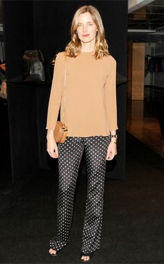 Amanda Brooks, Giulietta top and trousers