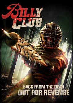 'Billy Club' Horror Movie Poster and Release Details