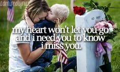 I Miss You - Miley Cyrus. This song reminds of my grandfather. I cry every time I hear it. ♥ I miss you Grampy!