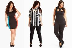 Fashion To Figure Gives Plus-Size Style The Boost We've Been Waiting For love all 3 of these. Office Fashion Women, Black Women Fashion, Womens Fashion For Work, Women's Fashion Dresses, Casual Dresses, Fashion Over 40, Fashion Tips, Crazy Fashion, Fashion Hacks