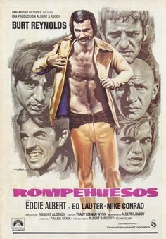 El rompehuesos (1974). Dir: Robert Aldrich. Presos y guardias de una cárcel se enfrentan en un partido de fútbol americano. En #BibUpo http://athenea.upo.es/record=b1511691