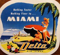 Delta Airlines - MIAMI