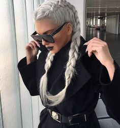The new web for peop+ Awesome Boxer Braids Special! The new web for peop+ – Frisuren – Winter Hairstyles, Trending Hairstyles, Braids For Short Hair, Short Hair Styles, Der Boxer, Boxer Braids, Love Hair, Hair Dos, Hair Trends