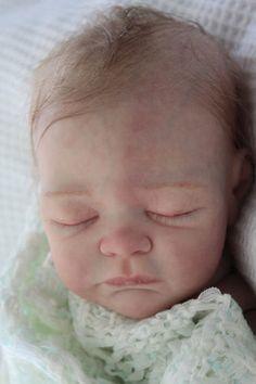 Reborn Baby Doll Lincoln lifelike REAL SKIN effect FULL TORSO by Laura L Eagles | eBay