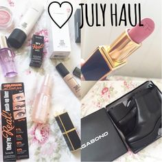 ♡ JULY HAUL  | WILDFLOWERMAKEUP