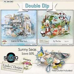 Double Dip: Sunny Seas #thestudio